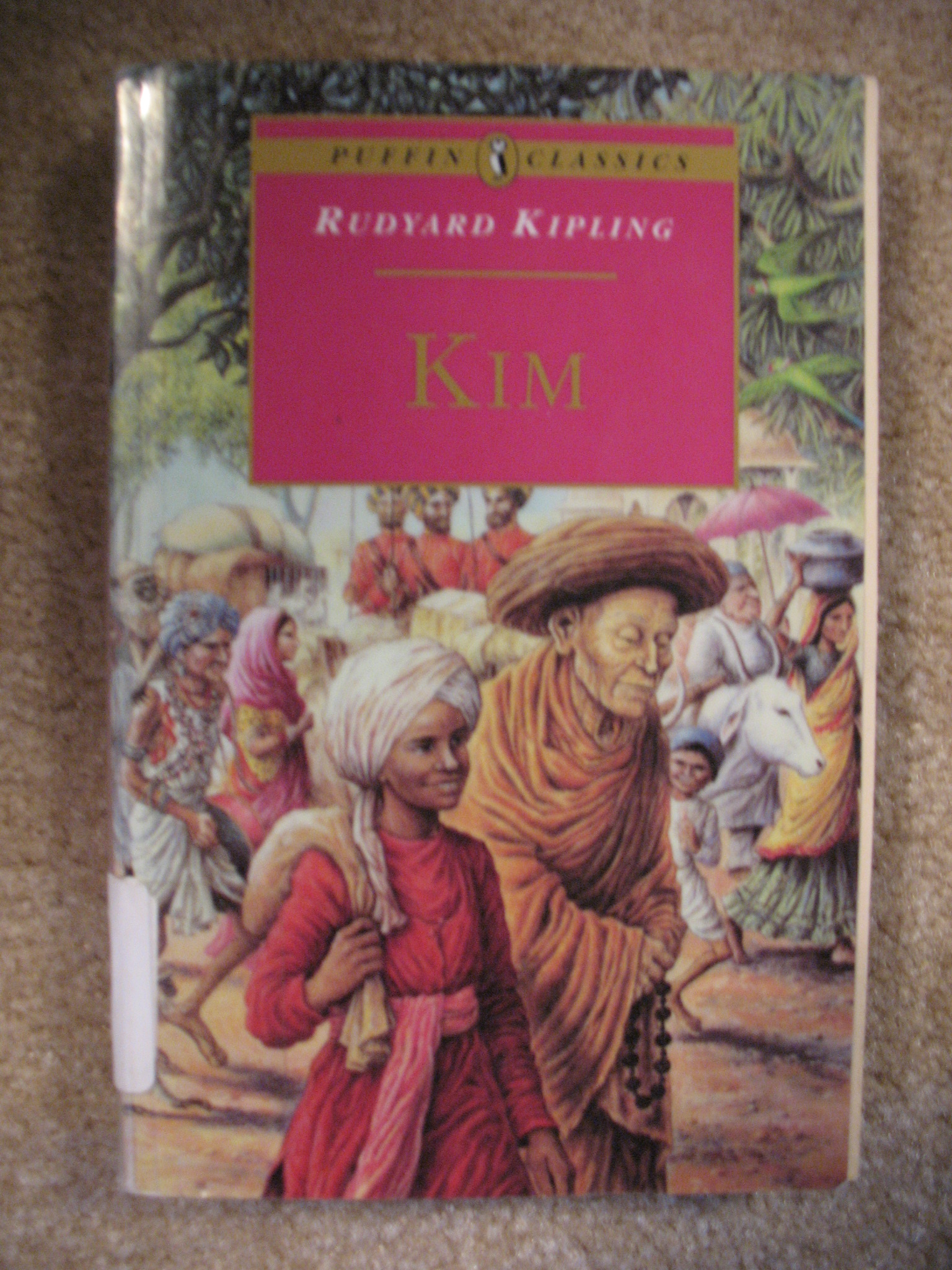 Kim: Complete and Unabridged (Puffin Classics), Kipling, Rudyard
