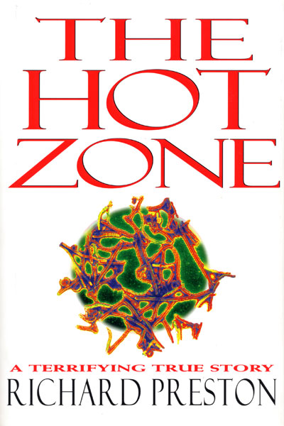 Cook Book Cover Zone : The hot zone by richard preston a good stopping point