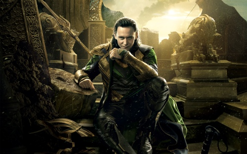 Tom Hiddleston as Loki from the Thor movies