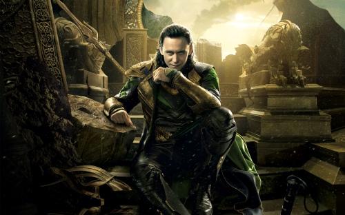 Tom Hiddleston as Loki from the Thor movies