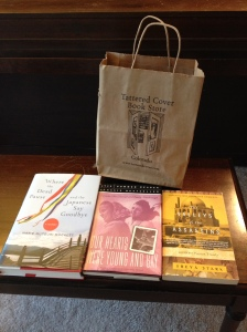 Tattered Cover books